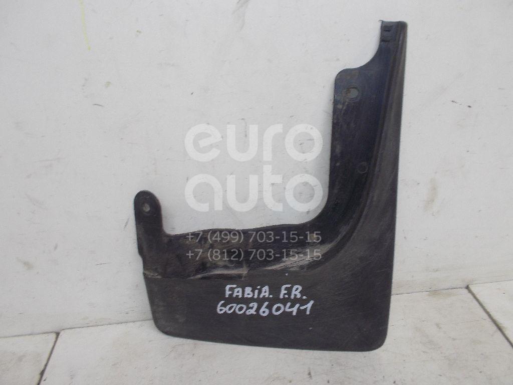 Брызговик передний правый для Skoda Fabia 2007-2015 - Фото №1