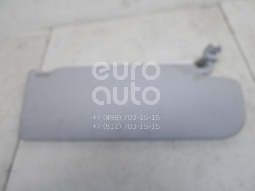 Козырек солнцезащитный (внутри) для Skoda Fabia 2007-2015;Roomster 2006-2015 - Фото №1