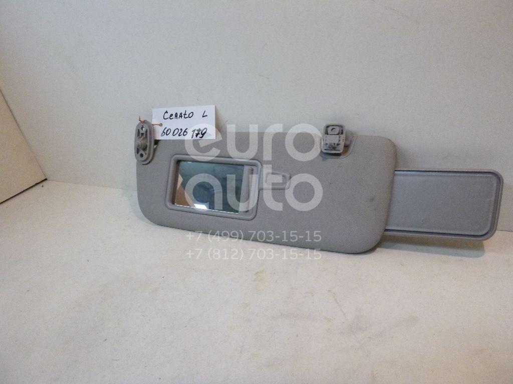 Козырек солнцезащитный (внутри) для Kia Cerato 2013> - Фото №1