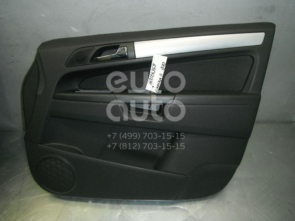 Обшивка двери передней правой для Opel Zafira B 2005-2012 - Фото №1