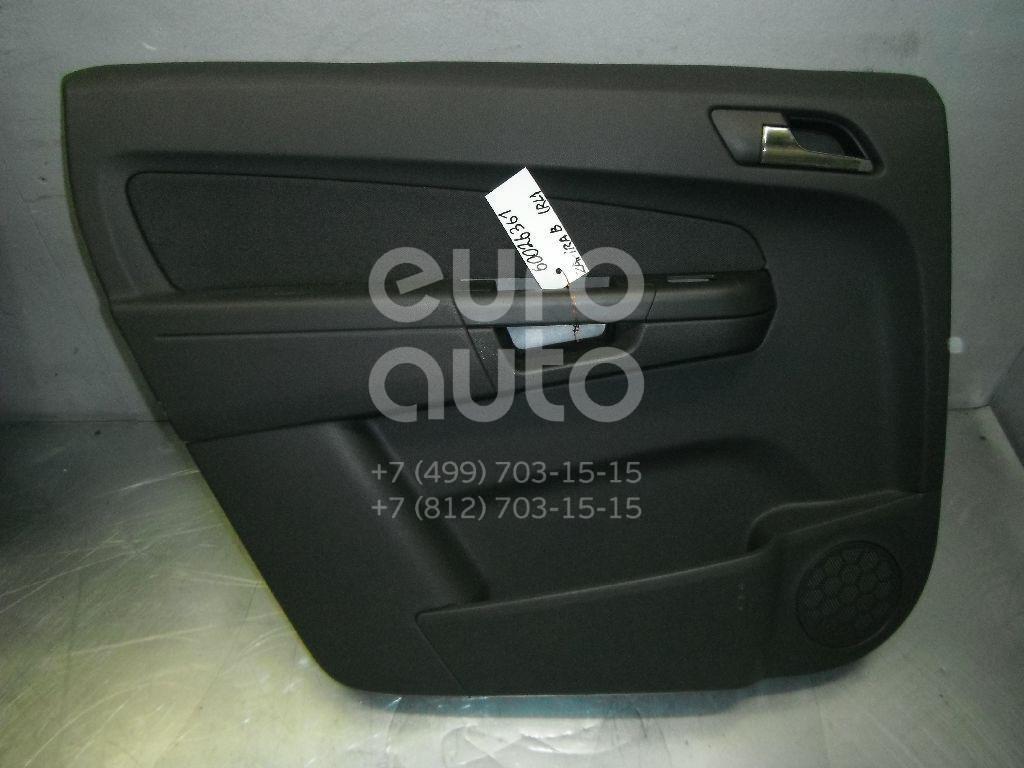 Обшивка двери задней левой для Opel Zafira B 2005-2012 - Фото №1