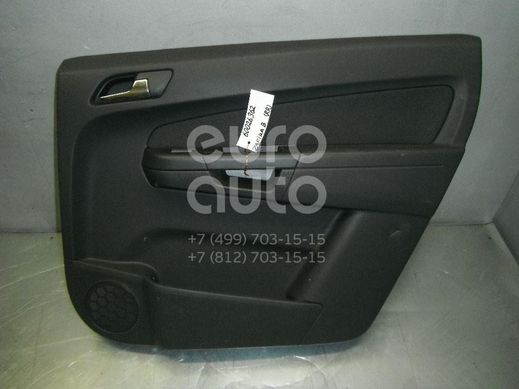 Обшивка двери задней правой для Opel Zafira B 2005-2012 - Фото №1