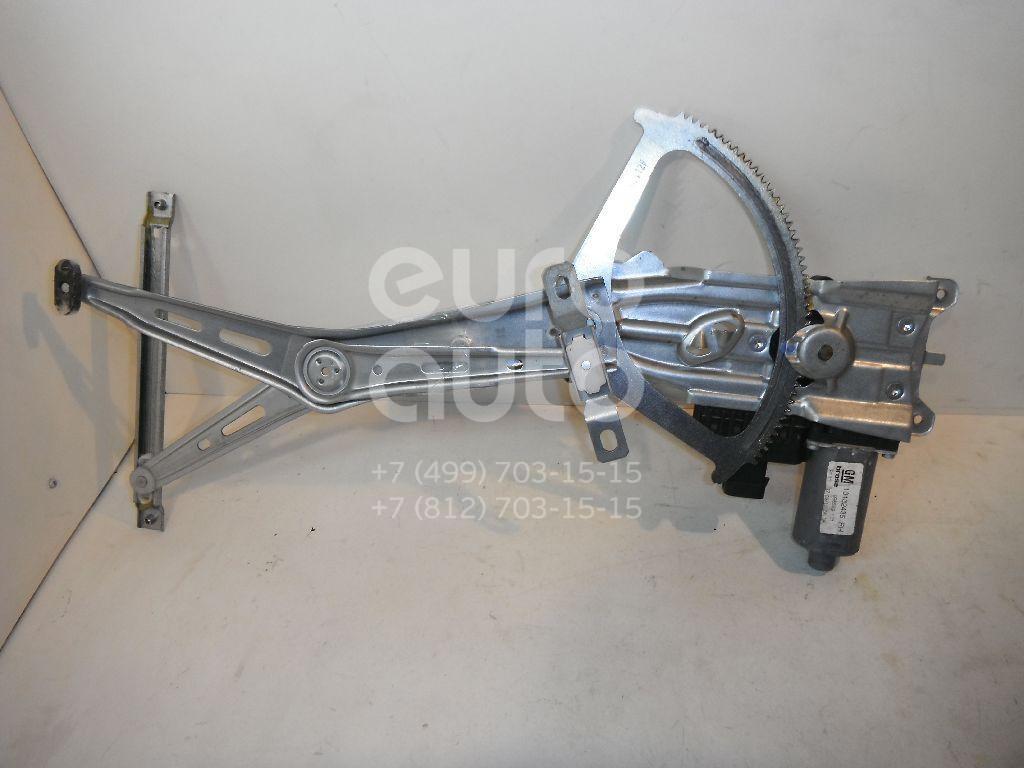 Стеклоподъемник электр. передний правый для Opel Zafira B 2005-2012 - Фото №1