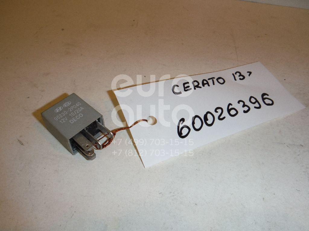 Реле для Kia Cerato 2013>;Sorento 2009> - Фото №1