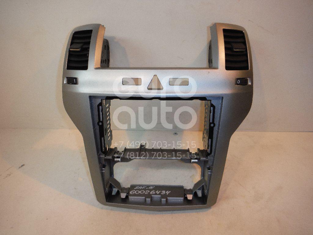 Рамка магнитолы для Opel Zafira B 2005-2012 - Фото №1
