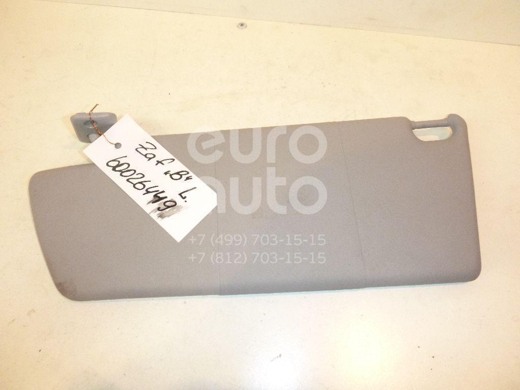 Козырек солнцезащитный (внутри) для Opel Zafira B 2005-2012;Vectra C 2002-2008 - Фото №1