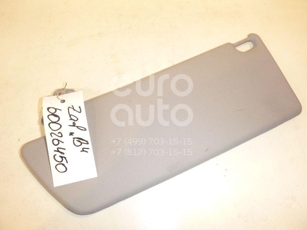 Козырек солнцезащитный (внутри) для Opel Zafira B 2005-2012 - Фото №1