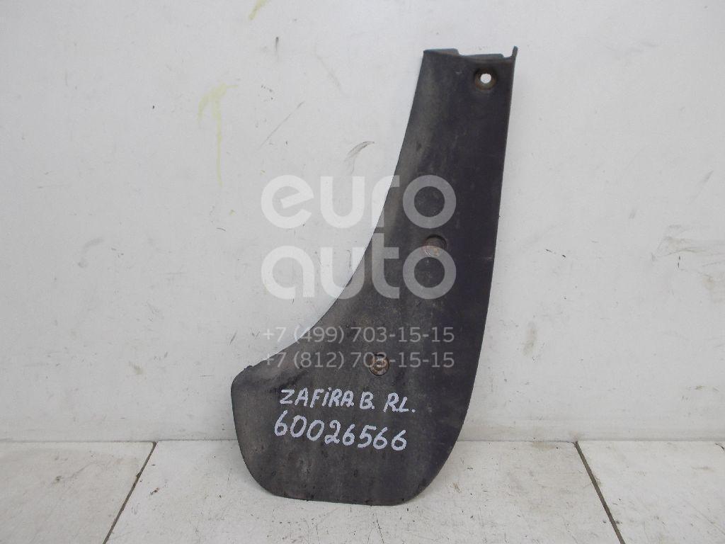 Брызговик задний левый для Opel Zafira B 2005-2012 - Фото №1
