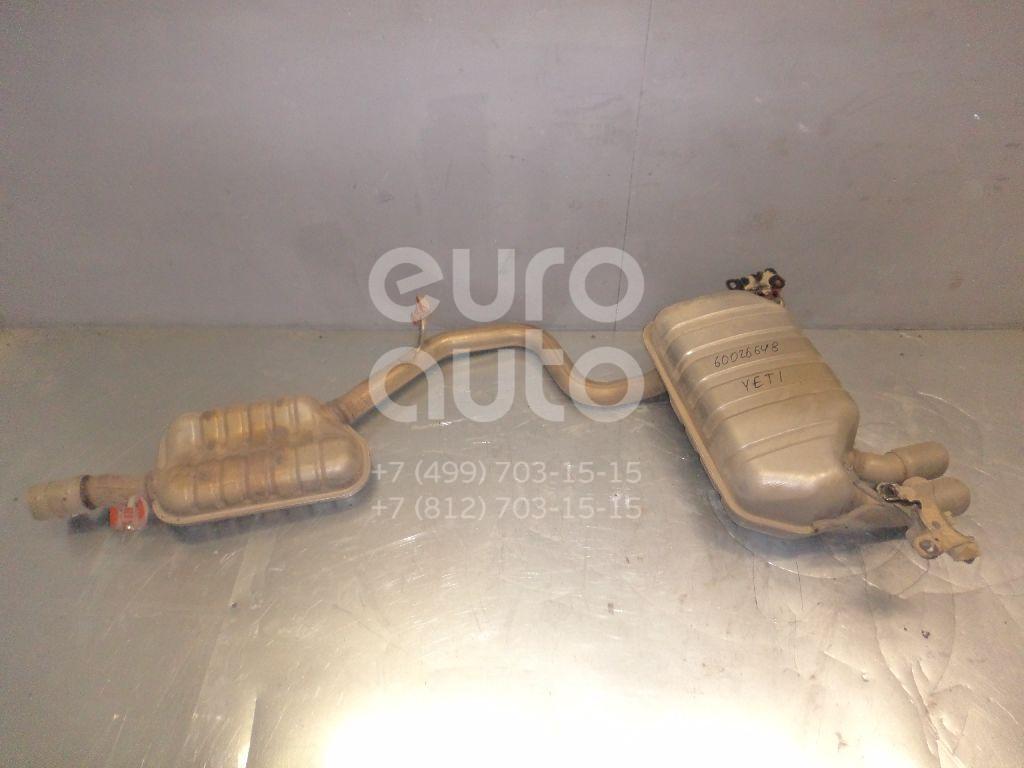Задняя часть глушителя для Skoda Yeti 2009> - Фото №1