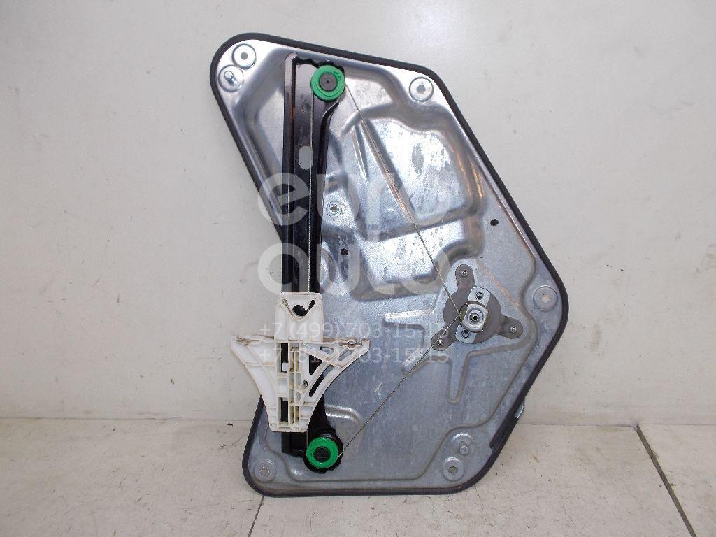 Стеклоподъемник механ. задний правый для Skoda Yeti 2009> - Фото №1