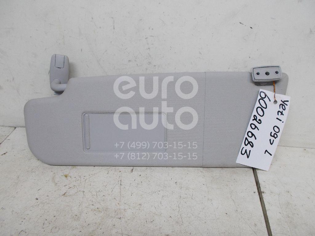Козырек солнцезащитный (внутри) для Skoda Yeti 2009>;Octavia (A5 1Z-) 2004-2013 - Фото №1