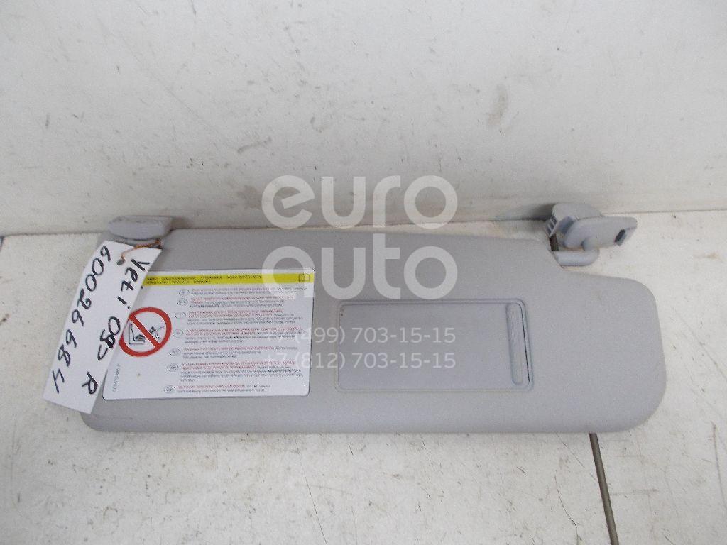 Козырек солнцезащитный (внутри) для Skoda Yeti 2009>;Fabia 2007-2015;Octavia (A5 1Z-) 2004-2013 - Фото №1