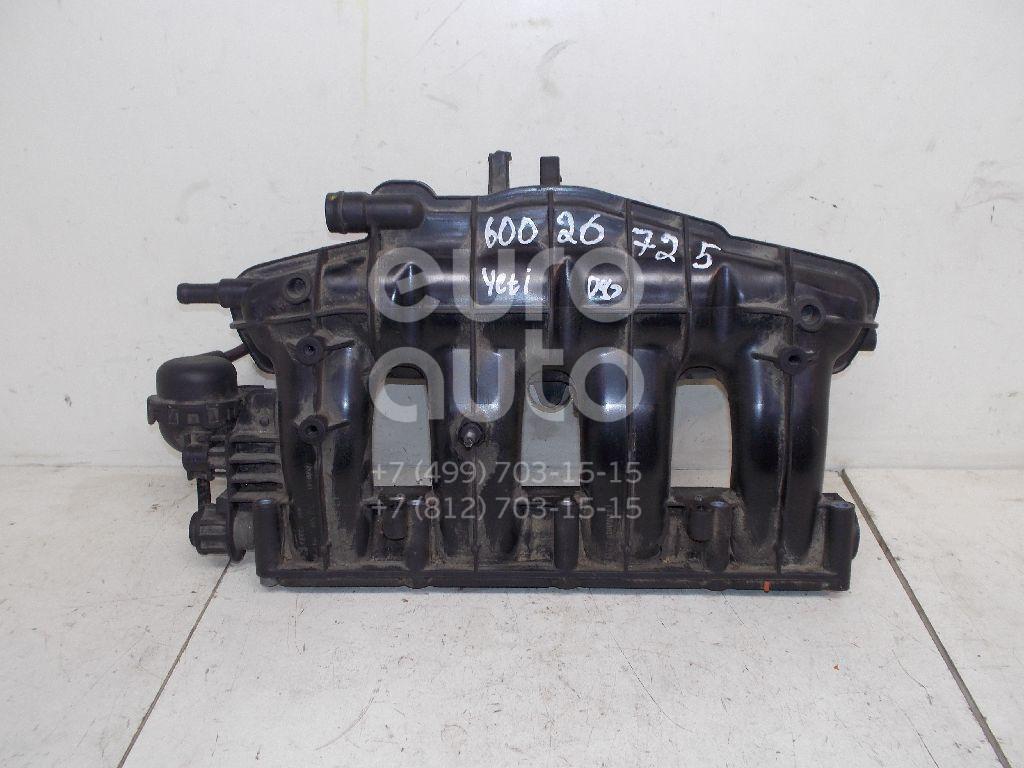 Коллектор впускной для Skoda,VW Yeti 2009>;Passat [B7] 2011-2015 - Фото №1