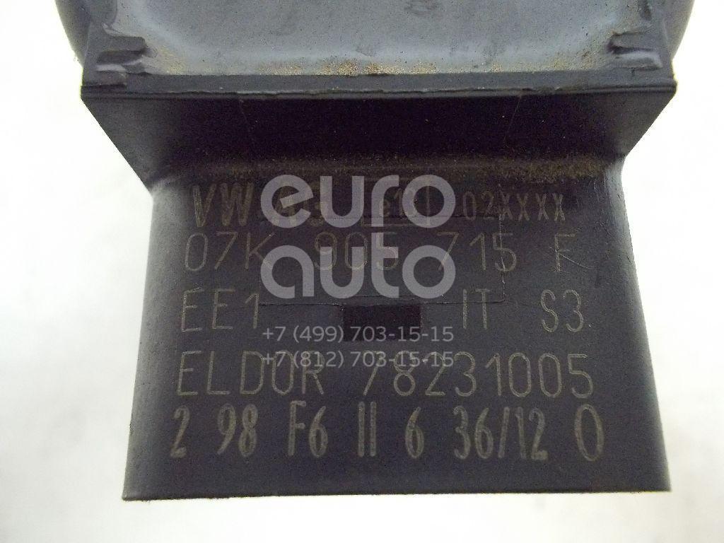 Катушка зажигания для Skoda,Audi,VW Yeti 2009>;A6 [C6,4F] 2004-2011;A3 [8PA] Sportback 2004-2013;Golf Plus 2005-2014;Passat [B6] 2005-2010;Golf V 2003-2009;Touran 2003-2010;A3 [8P1] 2003-2013;A4 [B7] 2005-2007;Tiguan 2007-2011 - Фото №1