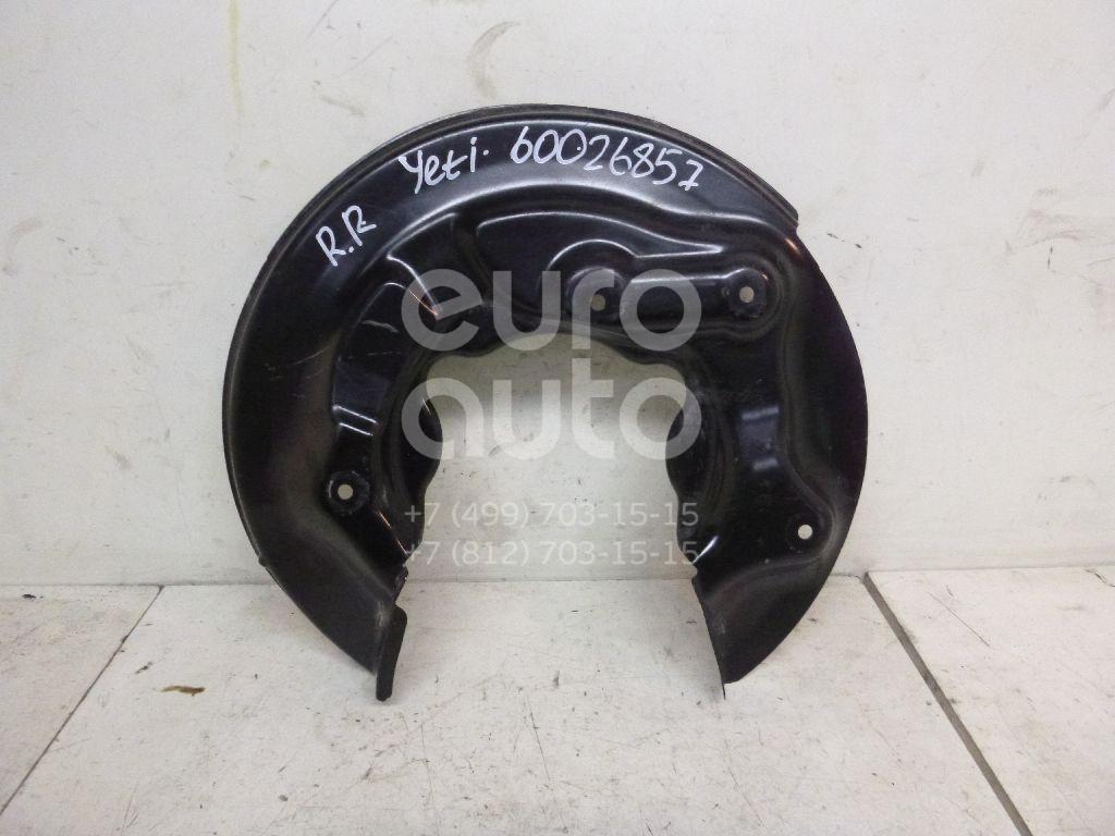 Пыльник тормозного диска для Skoda,Audi,Seat,VW Yeti 2009>;A3 [8PA] Sportback 2004-2013;Octavia (A5 1Z-) 2004-2013;Altea 2004-2015;Superb 2008-2015;Golf VI 2009-2012;A1 2010>;Golf VII 2012> - Фото №1