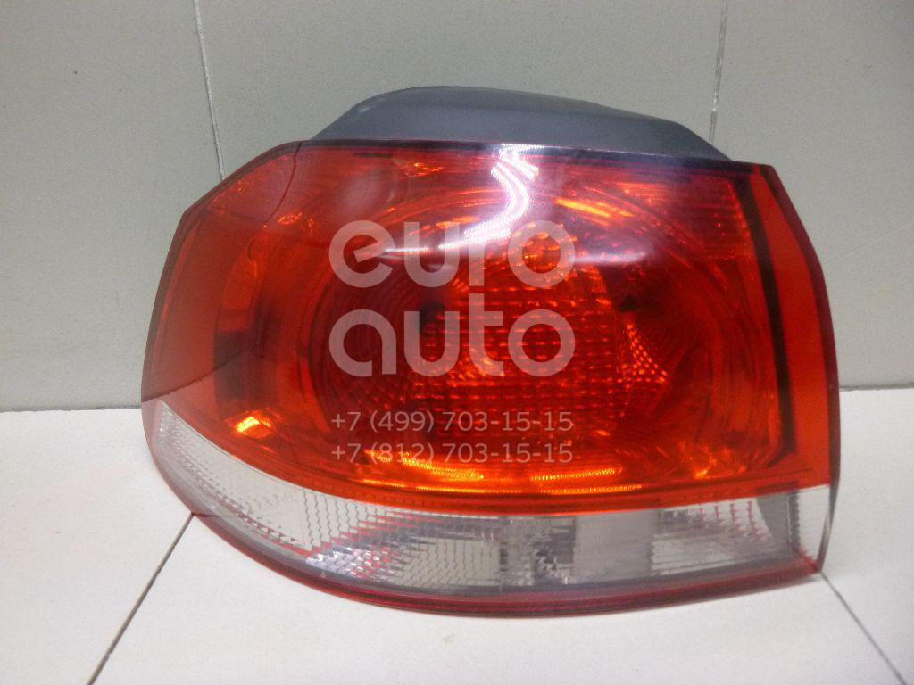 Фонарь задний наружный левый для VW Golf VI 2009-2012 - Фото №1