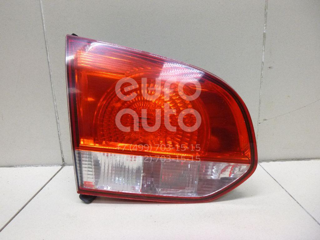 Фонарь задний внутренний левый для VW Golf VI 2009-2012 - Фото №1