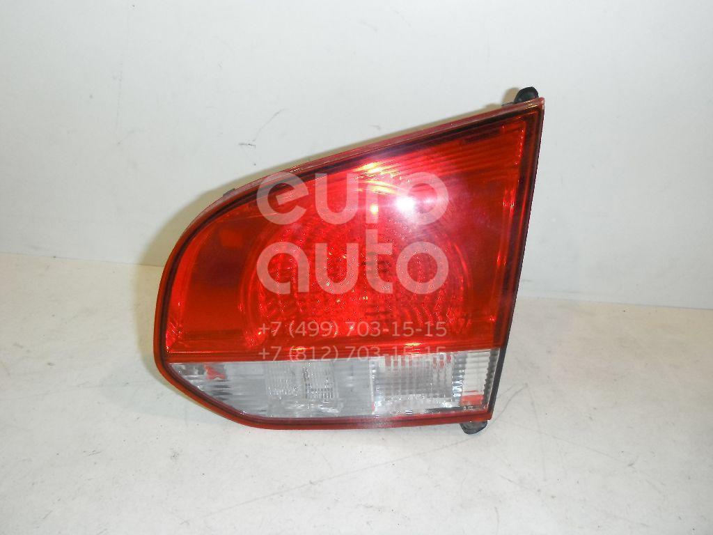 Фонарь задний внутренний правый для VW Golf VI 2009-2012 - Фото №1