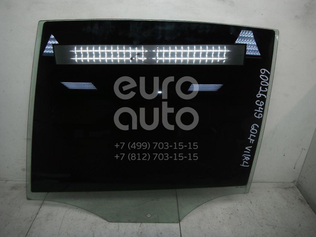 Стекло двери задней левой для VW Golf VI 2009-2012 - Фото №1