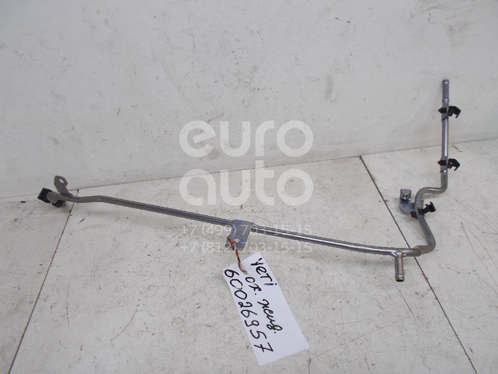 Трубка охлажд. жидкости металлическая для VW Yeti 2009>;Passat [B6] 2005-2010;A3 [8P1] 2003-2013;Tiguan 2007-2011;Leon (1P1) 2005-2013;Altea 2004>;Superb 2008-2015;TT(8J3) 2006-2015;Passat CC 2008>;EOS 2006>;Scirocco 2008>;Passat [B7] 2011>;Tiguan 2011> - Фото №1