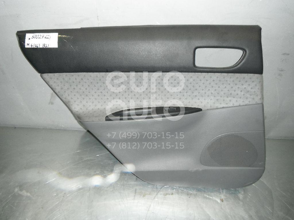 Обшивка двери задней левой для Mazda Mazda 6 (GG) 2002-2007 - Фото №1