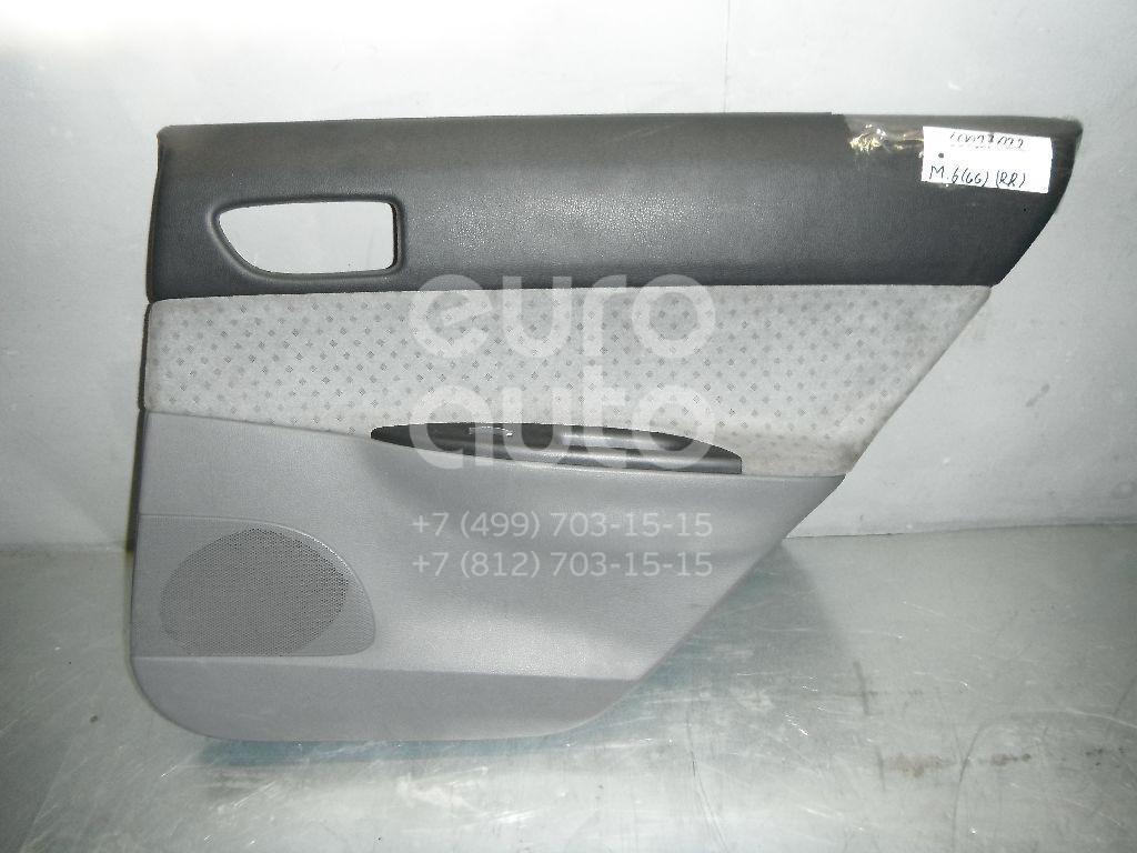 Обшивка двери задней правой для Mazda Mazda 6 (GG) 2002-2007 - Фото №1