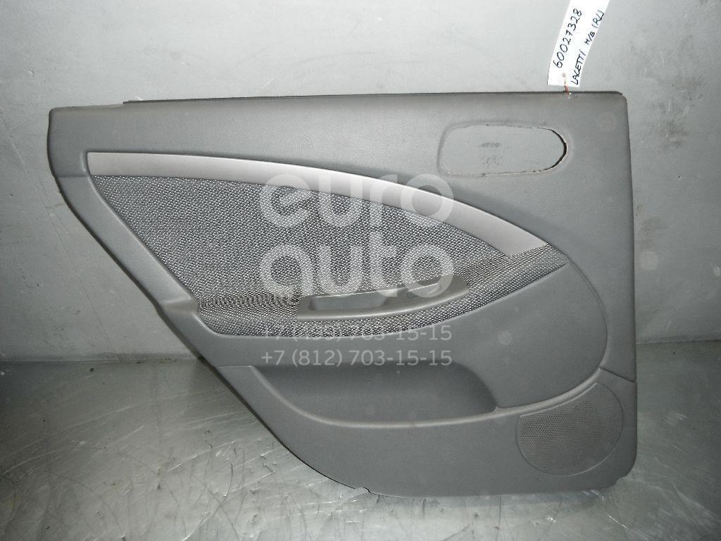 Обшивка двери задней левой для Chevrolet Lacetti 2003-2013 - Фото №1