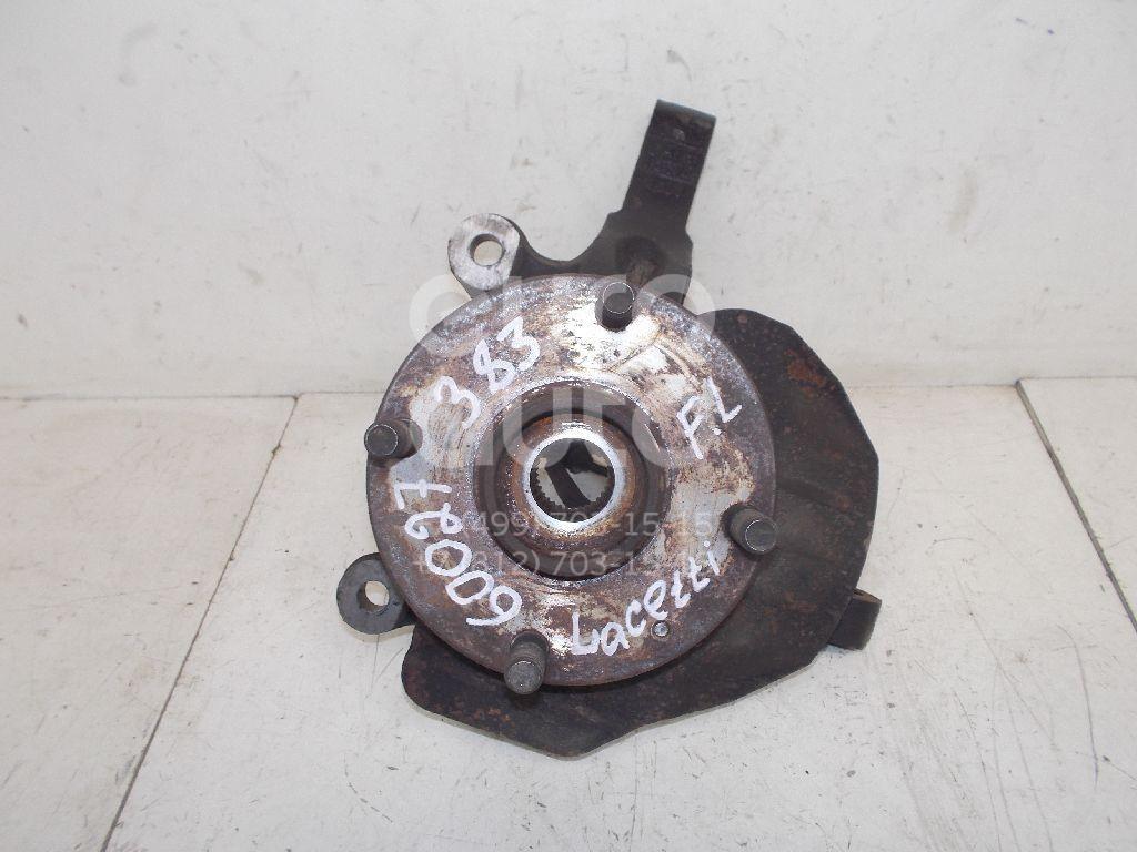 Кулак поворотный передний левый для Chevrolet Lacetti 2003> - Фото №1