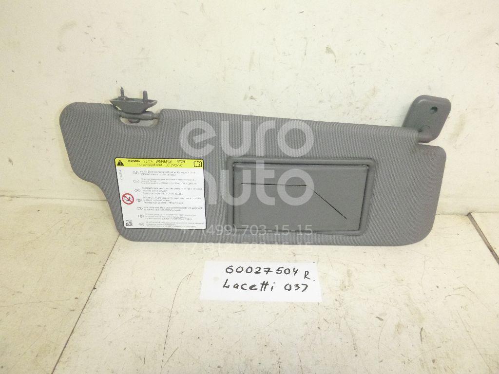 Козырек солнцезащитный (внутри) для Chevrolet Lacetti 2003-2013 - Фото №1