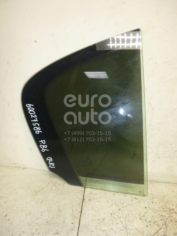 Стекло двери задней правой (форточка) для VW Passat [B6] 2005-2010 - Фото №1