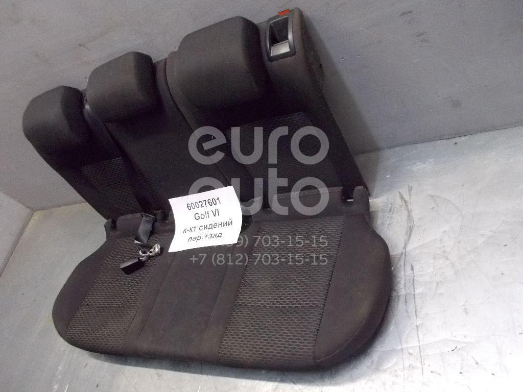 К-кт сидений для VW Golf VI 2009-2013 - Фото №1