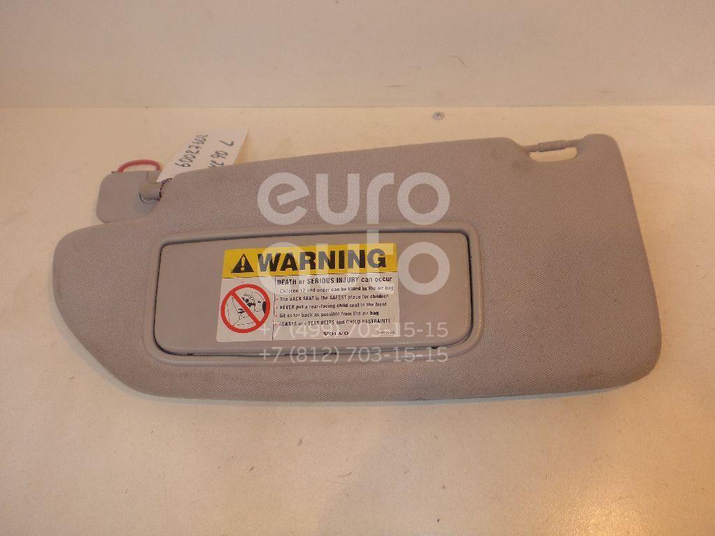 Козырек солнцезащитный (внутри) для Volvo XC90 2002-2015 - Фото №1