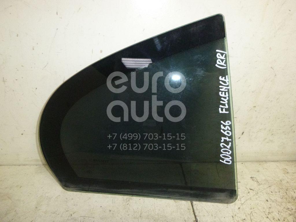 Стекло двери задней правой (форточка) для Renault Fluence 2010> - Фото №1