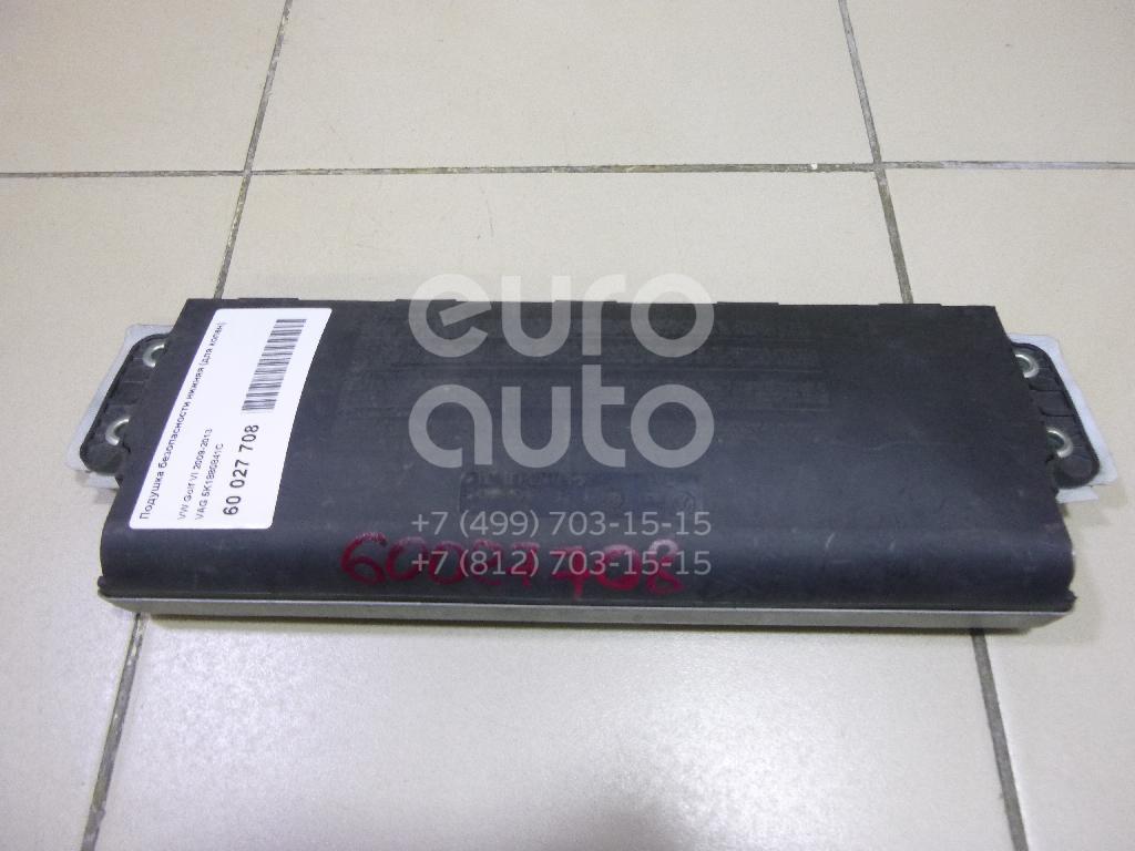 Подушка безопасности нижняя (для колен) для VW Golf VI 2009-2012 - Фото №1