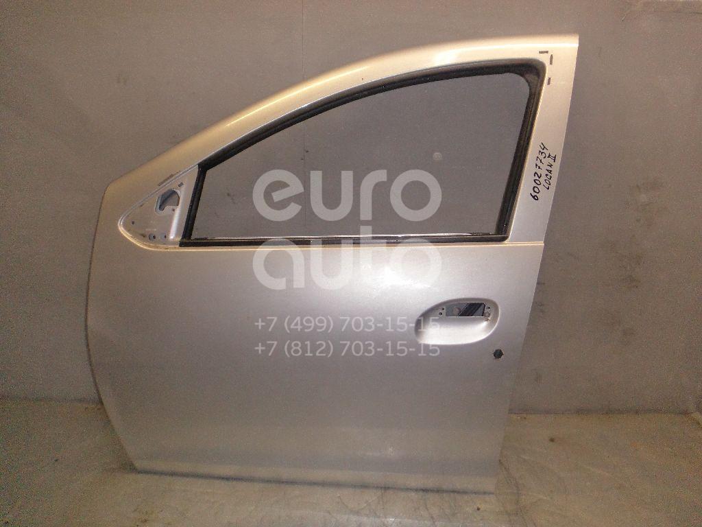 Дверь передняя левая для Renault Logan II 2014>;Sandero 2014> - Фото №1