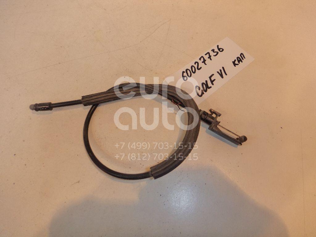 Трос открывания капота для VW Golf VI 2009-2012 - Фото №1