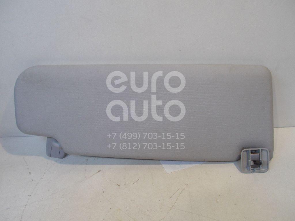 Козырек солнцезащитный (внутри) для VW Golf VI 2009-2012;Golf V Plus 2005-2014;Passat [B6] 2005-2010;Golf V 2003-2009;Jetta 2006-2011;Passat CC 2008> - Фото №1