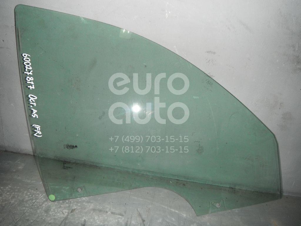 Стекло двери передней правой для Skoda Octavia (A5 1Z-) 2004-2013 - Фото №1