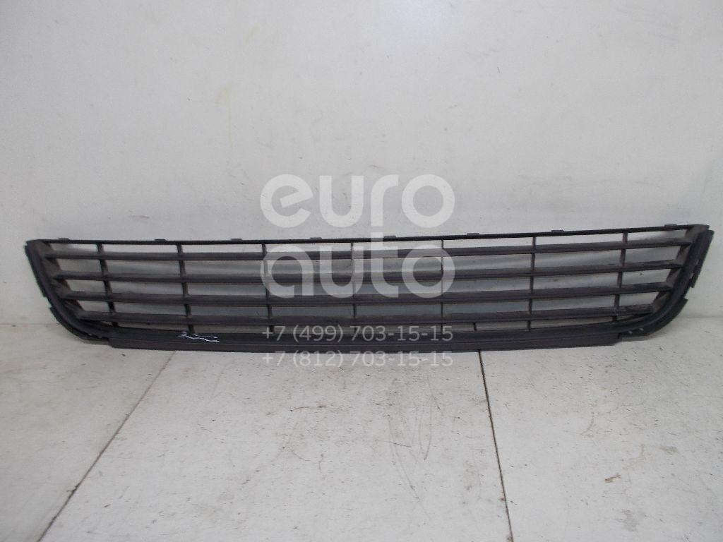 Решетка в бампер для VW Golf VI 2009-2012 - Фото №1