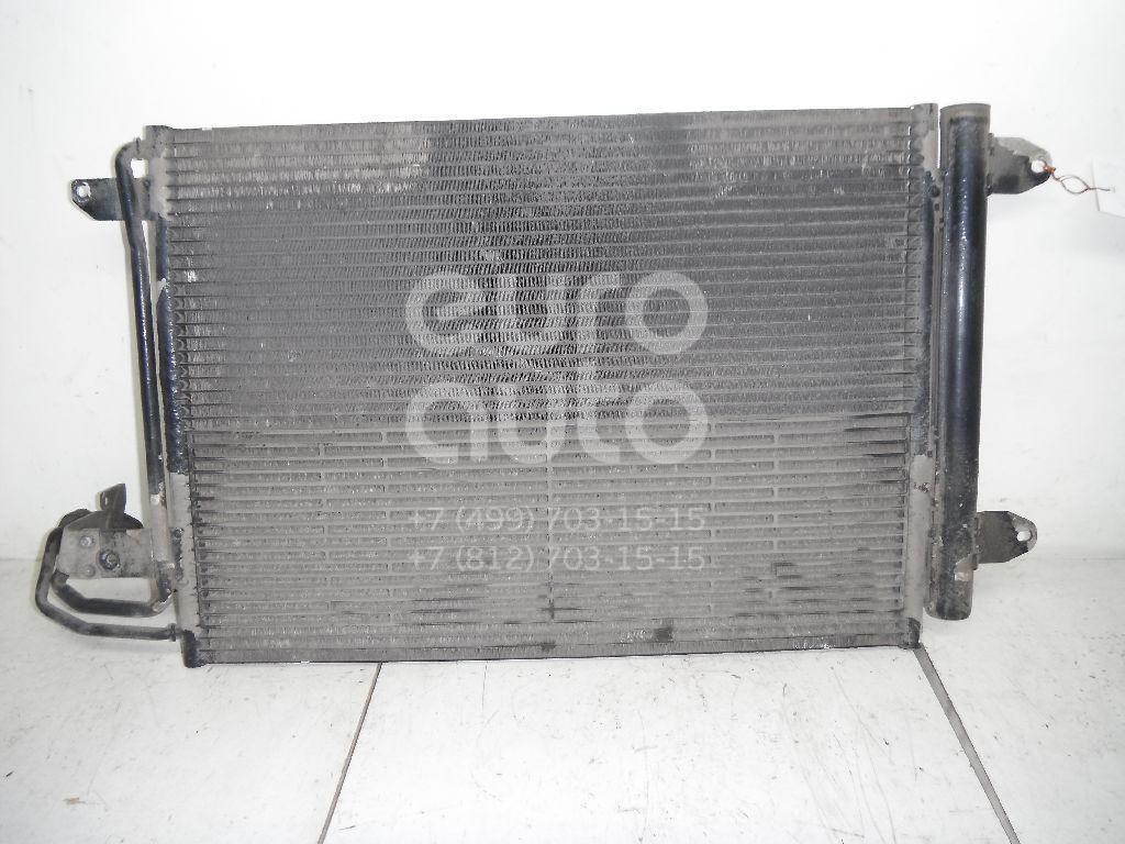 Радиатор кондиционера (конденсер) для VW,Audi,Skoda,Seat Golf VI 2009-2012;Golf V Plus 2005-2014;Golf V 2003-2009;A3 [8P1] 2003-2013;Jetta 2006-2011;Octavia (A5 1Z-) 2004-2013;Leon (1P1) 2005-2013;Altea 2004-2015;Toledo III 2004-2009;Superb 2008-2015 - Фото №1