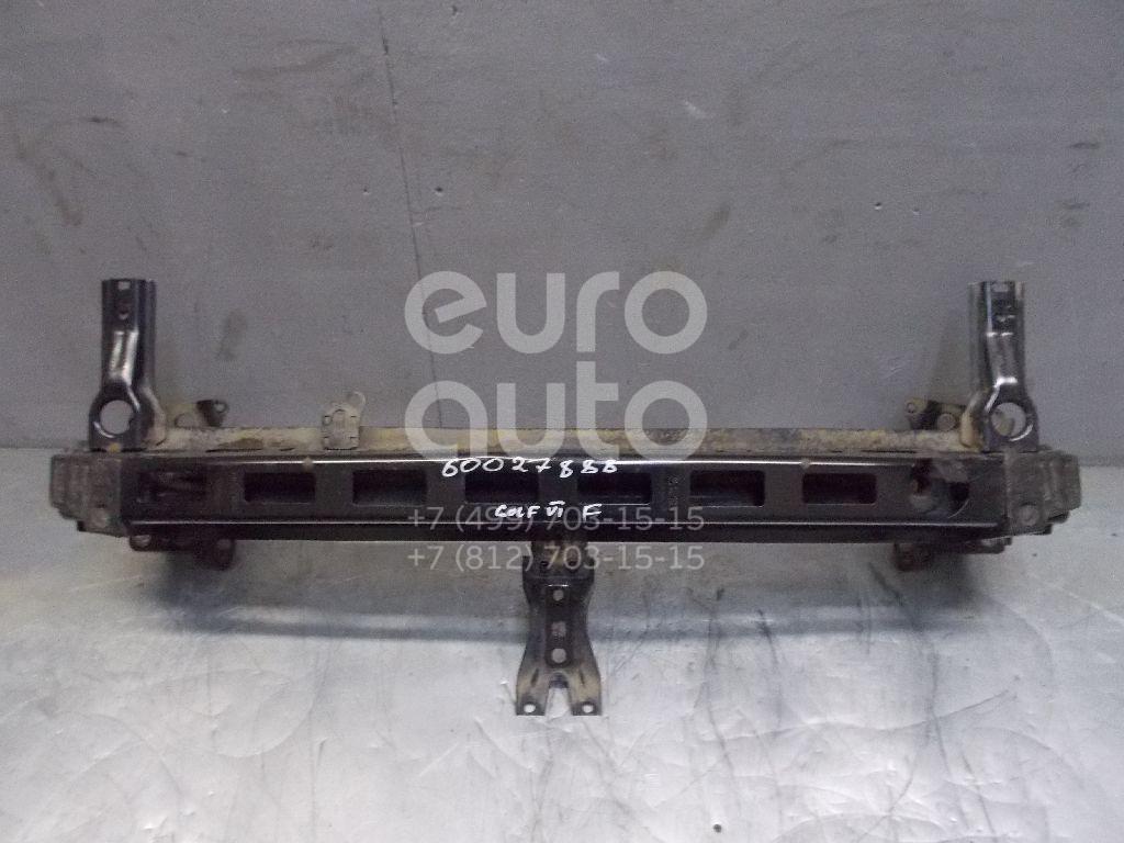 Усилитель переднего бампера для VW Golf VI 2009-2012 - Фото №1
