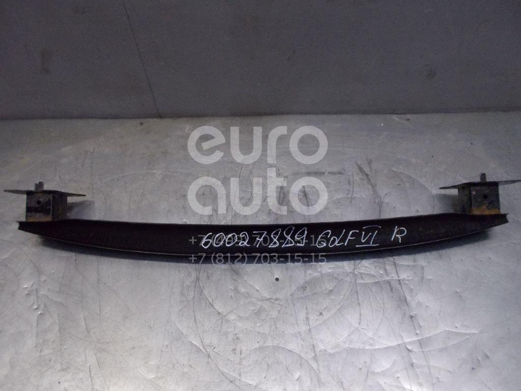 Усилитель заднего бампера для VW Golf VI 2009-2013 - Фото №1