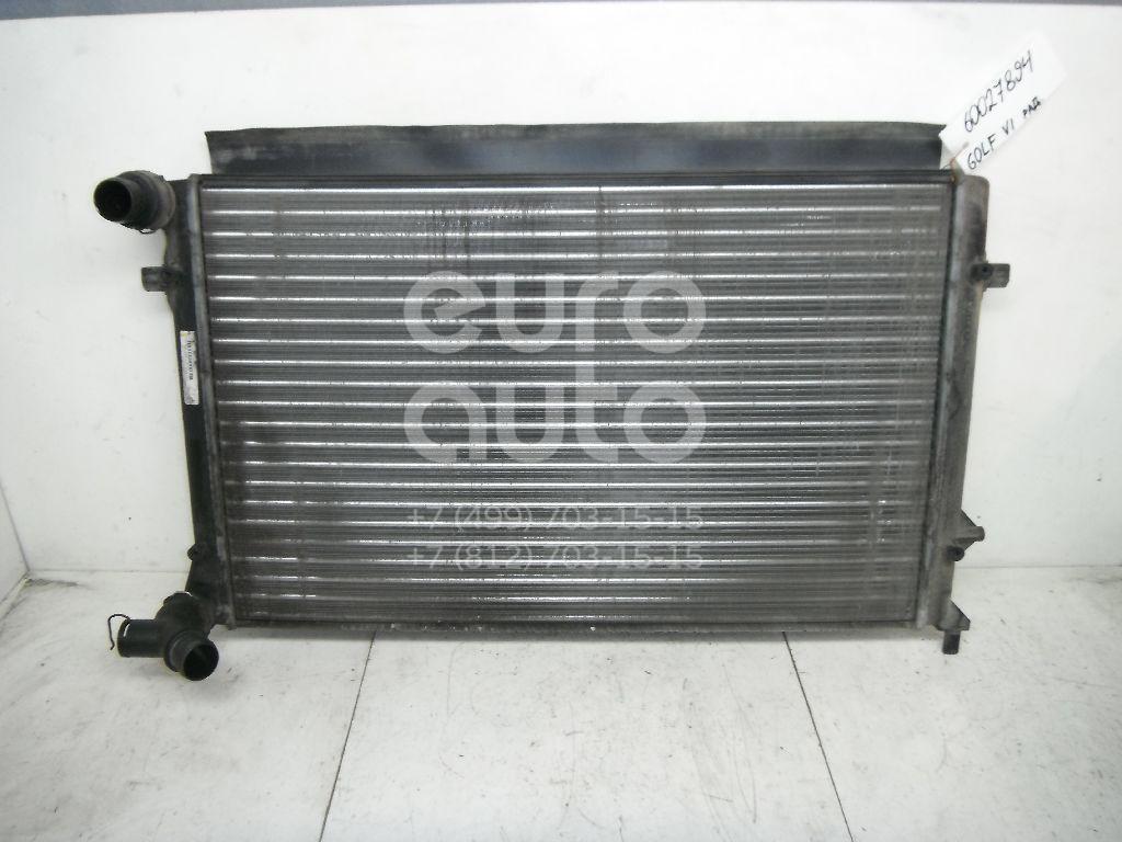 Радиатор основной для VW,Audi,Skoda,Seat Golf VI 2009-2012;A3 [8PA] Sportback 2004-2013;Caddy III 2004-2015;A3 [8P1] 2003-2013;Octavia (A5 1Z-) 2004-2013;Leon (1P1) 2005-2013;Altea 2004-2015;Toledo III 2004-2009 - Фото №1