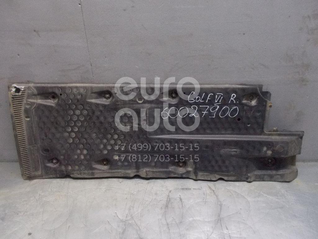 Защита антигравийная для VW,Skoda,Seat Golf VI 2009-2012;Jetta 2006-2011;Octavia (A5 1Z-) 2004-2013;Leon (1P1) 2005-2013;Altea 2004-2015 - Фото №1