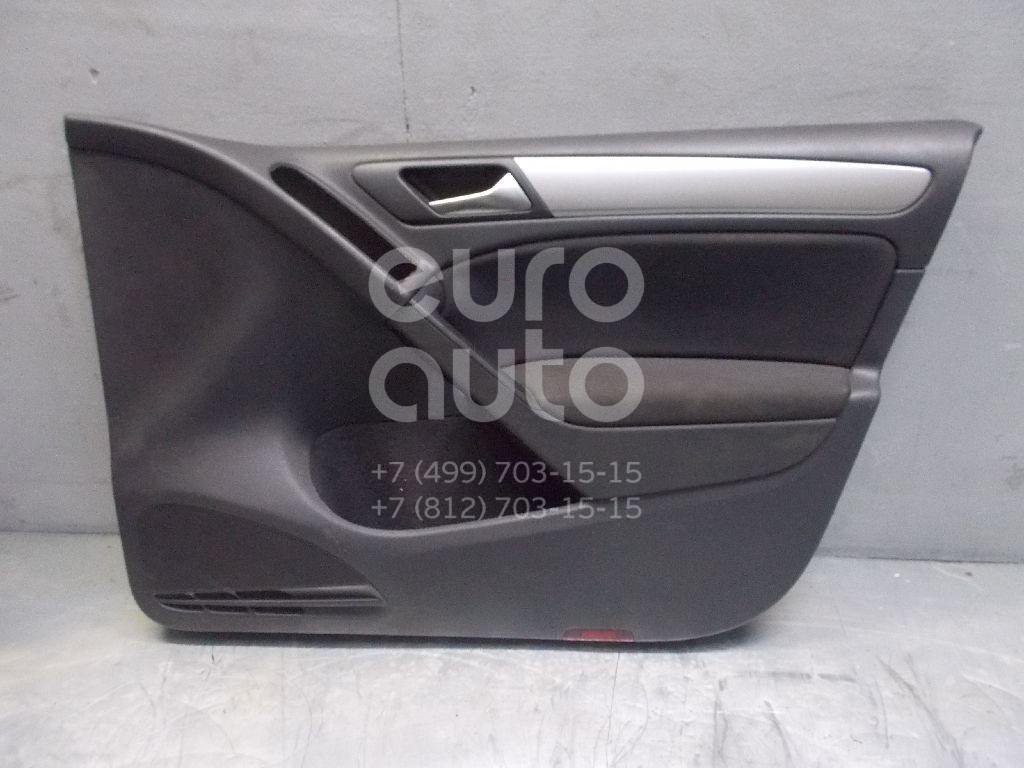 Обшивка двери передней правой для VW Golf VI 2009-2012 - Фото №1