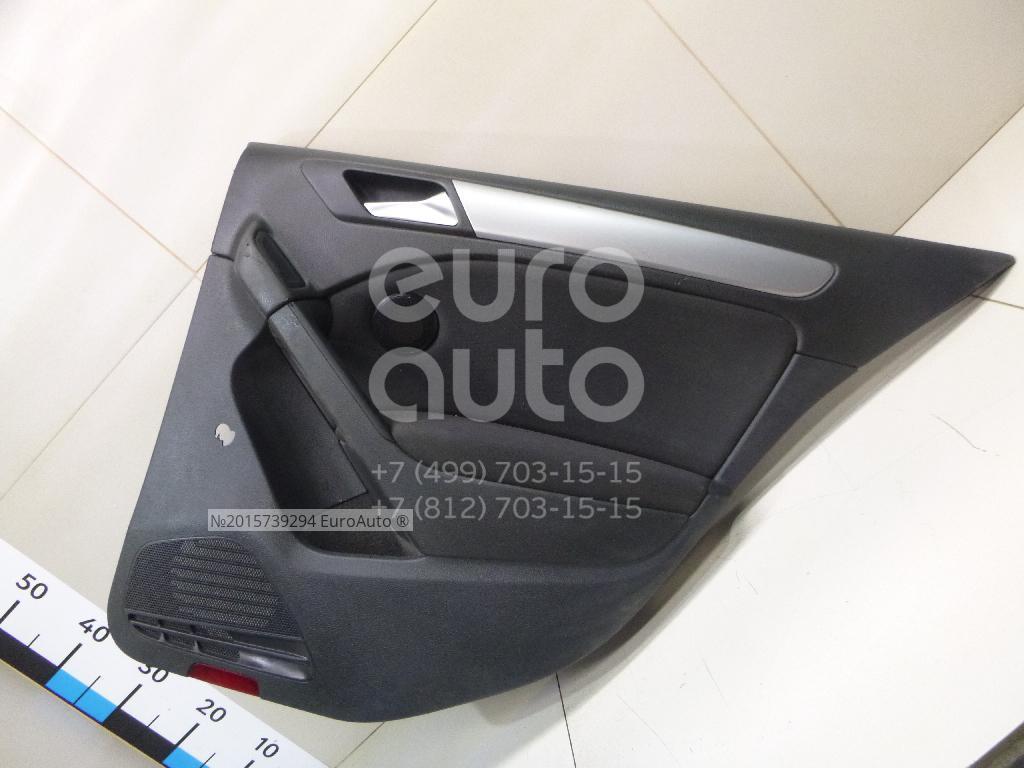 Обшивка двери задней правой для VW Golf VI 2009-2012 - Фото №1