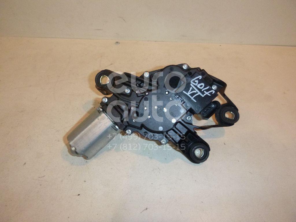 Моторчик стеклоочистителя задний для VW Golf VI 2009-2012;Golf V Plus 2005-2014;Polo (HB) 2009>;Sharan 2010> - Фото №1
