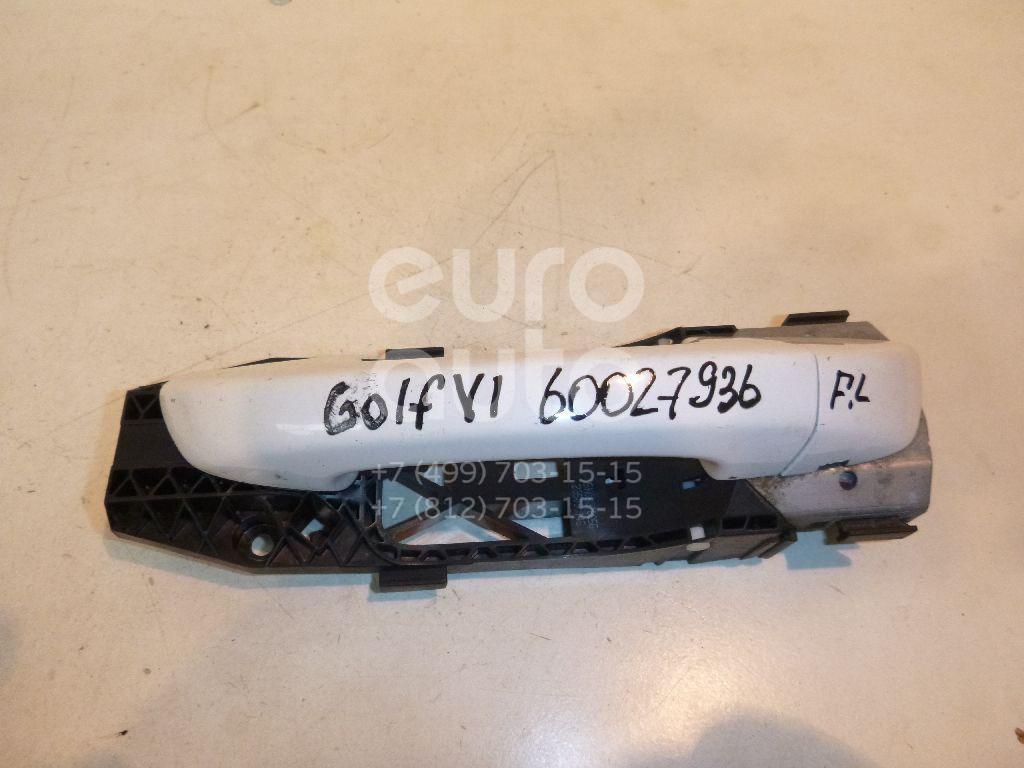 Ручка двери передней наружная левая для VW Golf VI 2009-2012;Jetta 2011> - Фото №1