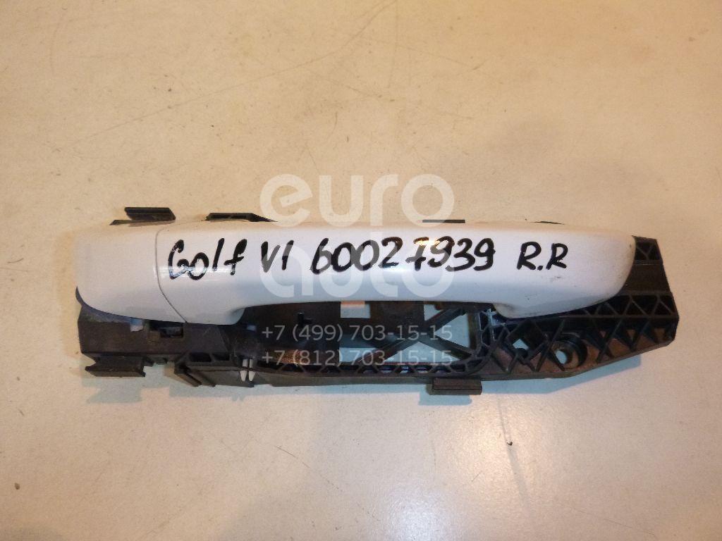 Ручка двери задней наружная правая для VW Golf VI 2009-2012 - Фото №1