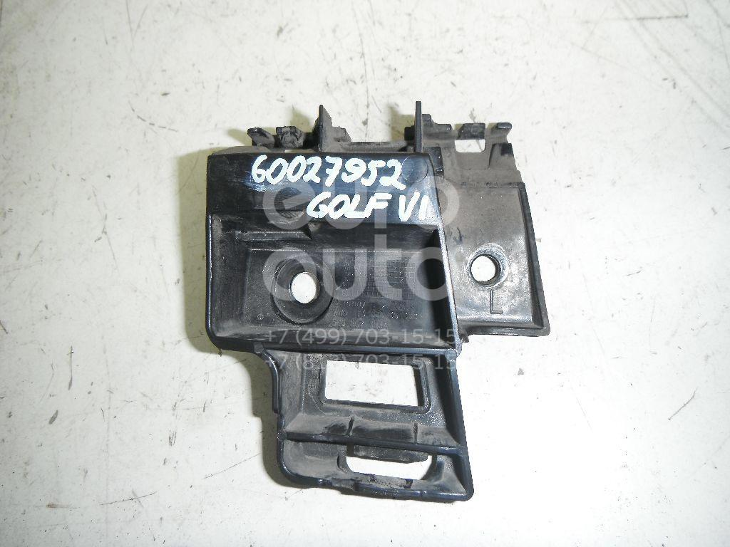 Направляющая заднего бампера левая для VW Golf VI 2009-2012 - Фото №1